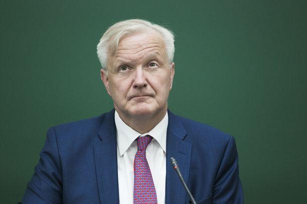 Suomen Pankin pääjohtajaa Olli Rehniä pidettiin vahvana ehdokkaana IMF:n johtoon.