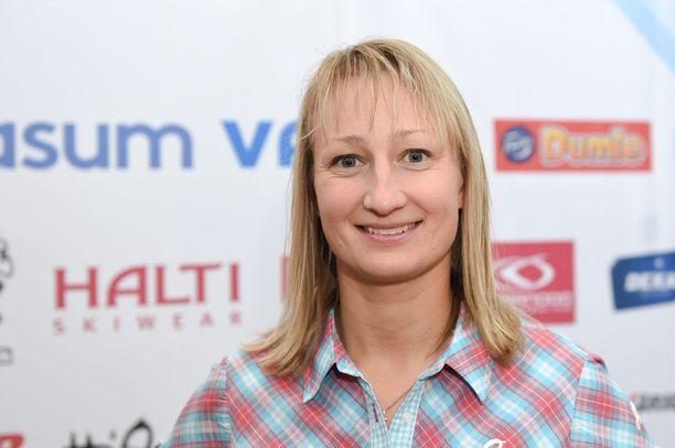Kuinka monta MM-mitalia Tanja Poutiainen saavutti?