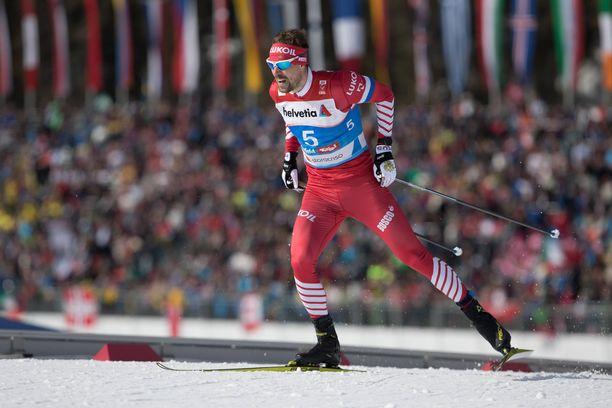Sergei Ustjugov hylättiin sprinttikisassa.