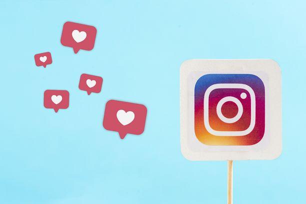 Instagram testaa tykkäysmäärien piilottamista.