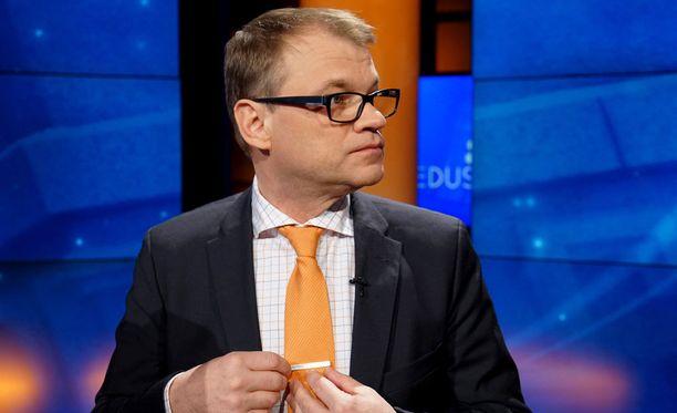 Pääministeri Juha Sipilä.Arkistokuva.