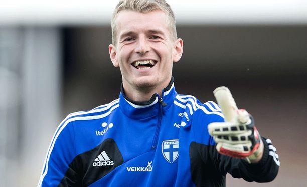 Lukas Hradecky on lähellä Tanskan cupin finaalia.