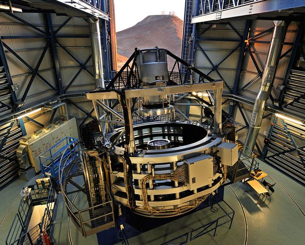 Vauvaplaneetta löydettiin Euroopan eteläisen observatorion (ESO) Chilessä sijaitsevilla laitteilla.