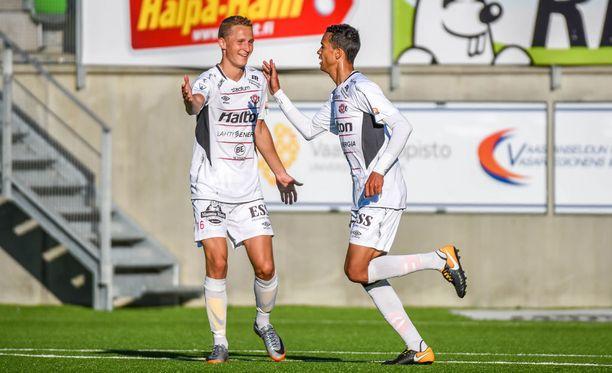 FC Lahdella riitti jälleen aihetta juhlaan.
