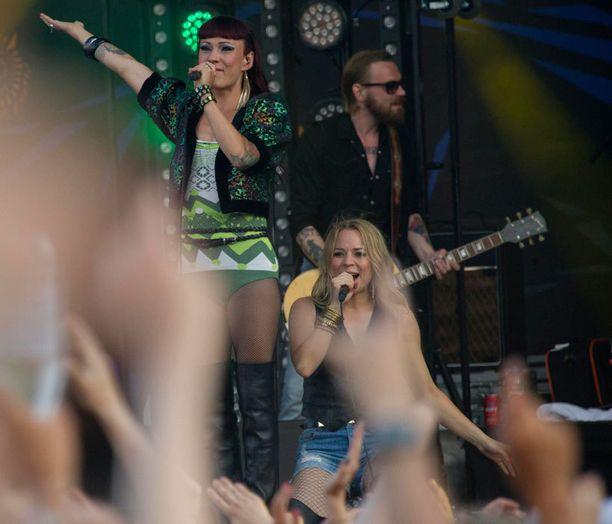 PMMP esiintyi viime kesänä Ruisrock-festivaaleilla Turussa.