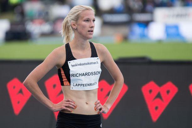 Camilla Richardsson jättää Tokion olympialaiset väliin.