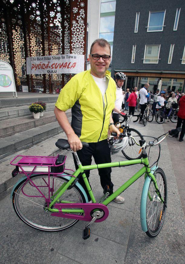 Diplomi-insinööri Juha Sipilä on suunnitellut ja rakentanut itselleen muun muassa sähköavusteisen polkupyörän.