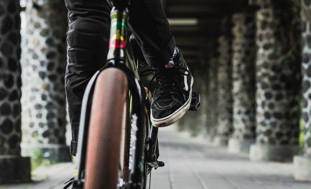 Viimeisin varkaus tehtiin katkaisemalla polkupyörän lukko voimaleikkurilla. Kuvituskuva.
