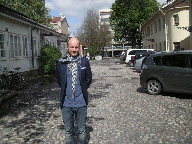 SUURI SUUNNITELMA Hans Välimäki aikoo tuoda telttaravintolaansa maailman parhaita kokkeja.