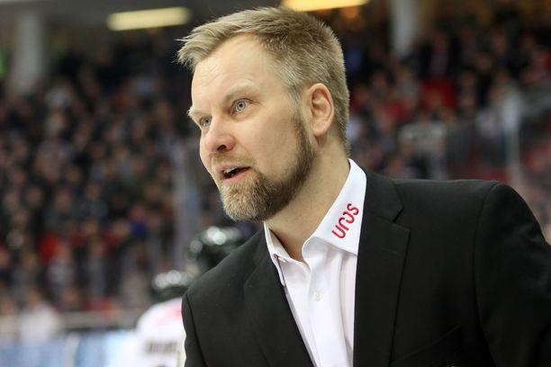 Mikko Manner johti Kärpät toista kertaa peräkkäin Liigan finaaleihin,