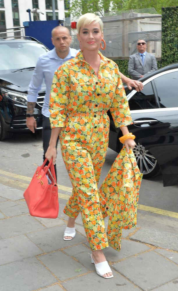 Katy Perry Lontoossa toukokuussa 2019.