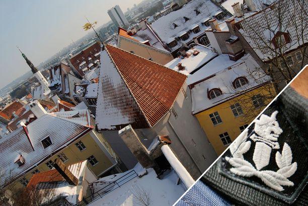 Poliisi kertoo, että epäilty vuonna -99 syntynyt mies on otettu kiinni Tallinnassa lauantai-iltana. Kuvituskuva.