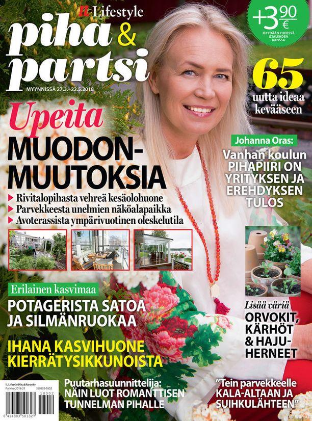Uusi Piha & partsi -erikoislehti antaa uusia ideoita parvekkeen, terassin a puutarhan kaunistamiseen.