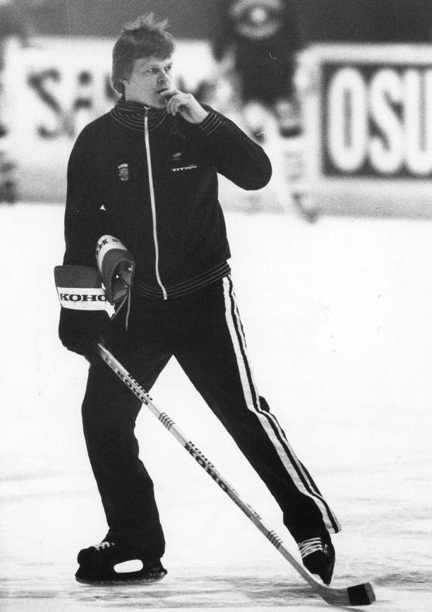 Alpo Suhonen valmensi Leijonia vuosina 1982-1986