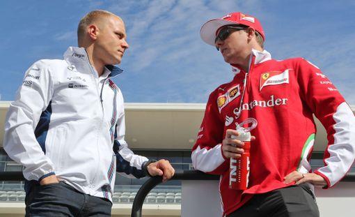 Valtteri Bottas ja Kimi Räikkönen eivät lukeudu Mark Webberin papereissa mestarisuosikkeihin.