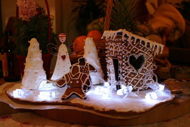 Leipuri Lauran joulupiparila toi tunnelmaa koko joulun.