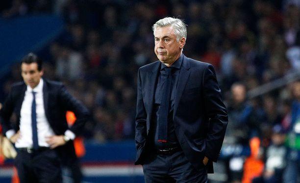 Carlo Ancelotti väistyy Bayernin päävalmentajan tontilta.