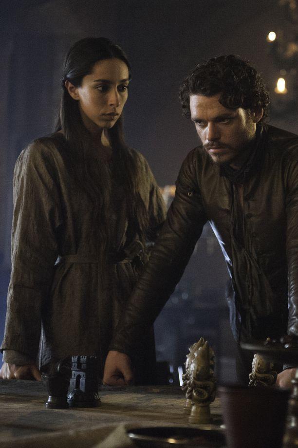 Robb Stark ja Talisa Stark eivät ehtineet nauttimaan avioelämästä kovin pitkään.