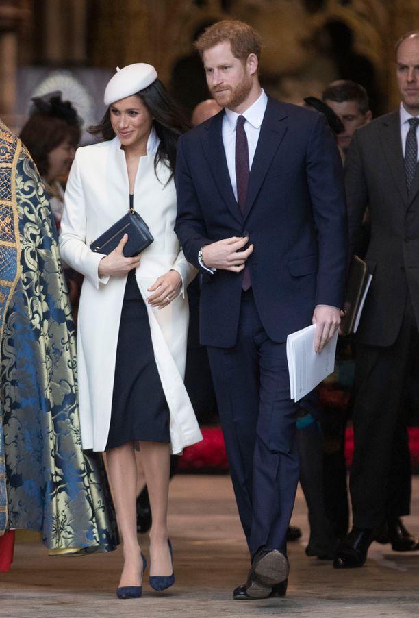 Meghan Markle ja prinssi Harry osallistuivat jumalanpalvelukseen kuluneella viikolla.