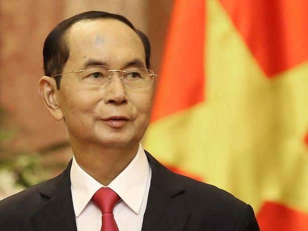 Tran Dai Quang kuoli sairaalassa perjantaiaamuna.
