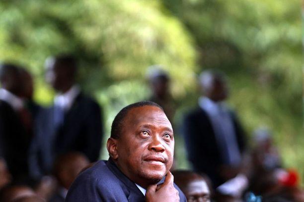 Kenian presidentti Uhuru Kenyatta osallistui mielenilmaukseen, jossa eri uskontokuntien johtajat kokoontuivat rukoilemaan rauhallisia vaaleja.