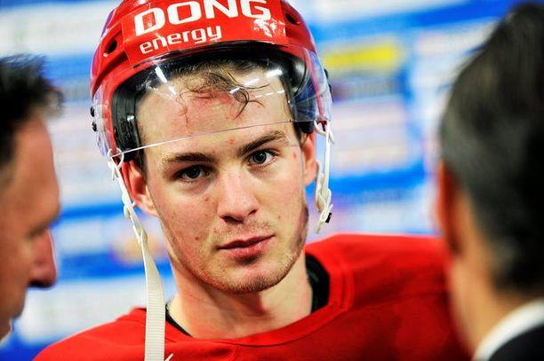 Mikkel Bødker on Tanskan ainoa NHL-vahvistus.