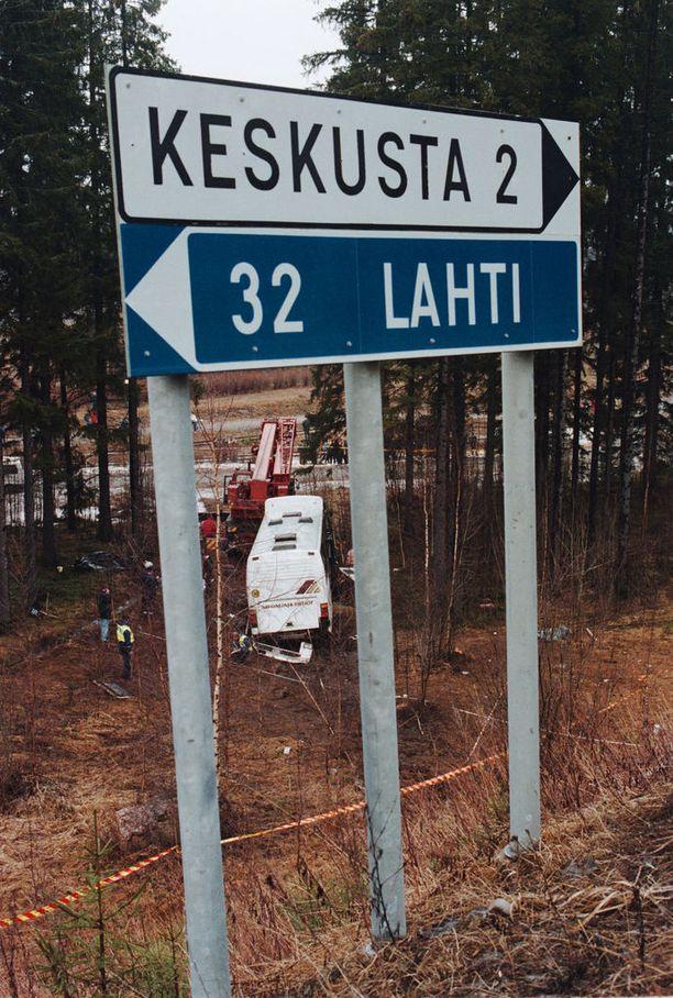 Heinolan bussiturma tapahtui huhtikuussa 1999 Heinolan eteläisessä liittymässä.
