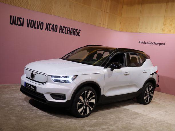 Gentin tehtaalla Belgiassa valmistetaan jo Volvon ensimmäistä täyssähköautoa, XC40 Recharge -mallia.