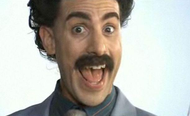 Borat-hahmo tuli suosituksi, kun hahmosta kertova elokuva tuli ensi-iltaan vuonna 2006.