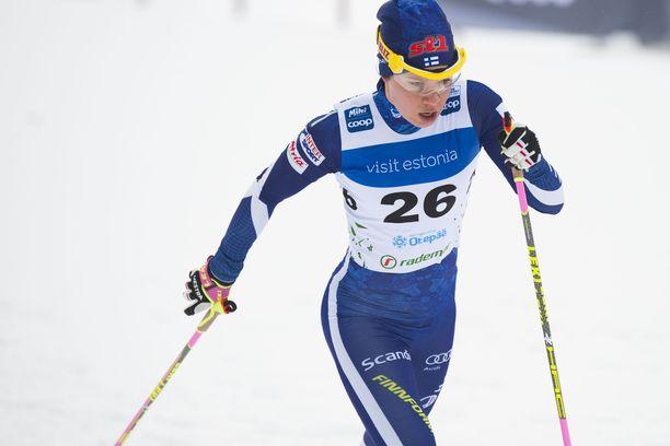 Suomalainen hiihti paluukilpailussaan sijalle 22.