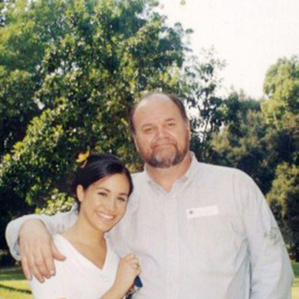 Meghanin suhde isään säilyi, vaikka vanhemmat erosivat hänen ollessaan 6-vuotias.