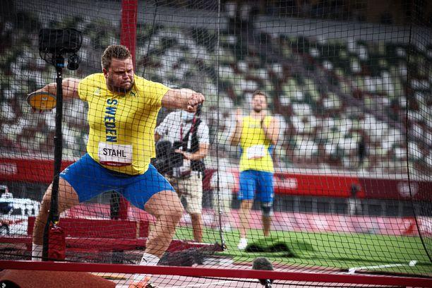 Daniel Ståhl nähdään tälläkin kertaa maaottelussa.