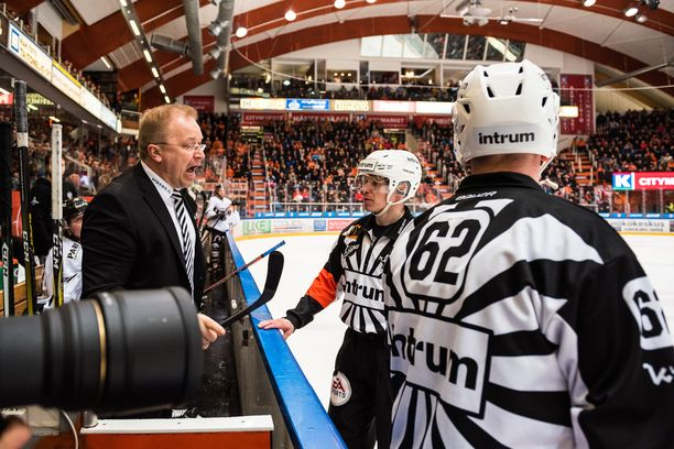 Kalle Kaskinen ei halunnut puhua keskiviikon ottelusta.