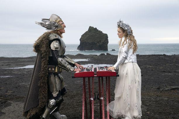 Husavik-kappale tavoittelee Oscar-palkintoa. Kuvassa Will Ferrell ja Rachel McAdams.