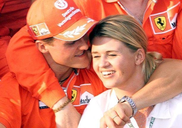 Michael ja Corinna Schumacher ovat olleet naimisissa vuodesta 1995.