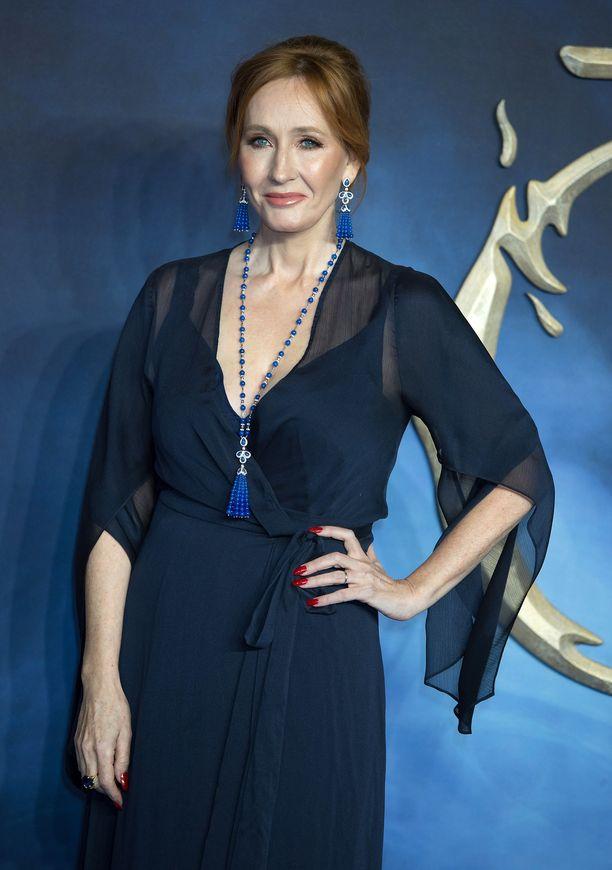 J.K. Rowling , 54, kirjoitti seitsemän Harry Potter -kirjaa.