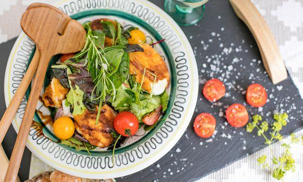 Muista valita paljon värikkäistä kasviksia lautasellesi joka aterialla.