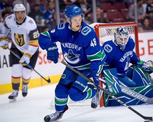 Vancouver varasi Olli Juolevin viidentenä.