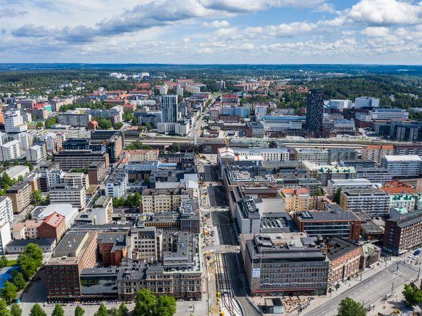 Asuntojen arvot laskevat ympäri Suomea. Tampere on kuulunut voittajakaupunkeihin.