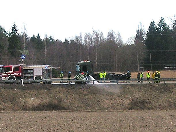 Onnettomuus sattui Raaseporissa Uudellamaalla.