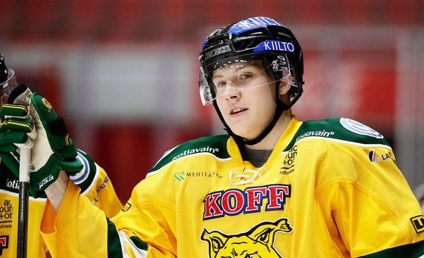 Ville Meskanen puuttuu Ilveksen kokoonpanosta perjantain liiga-avauksesta.