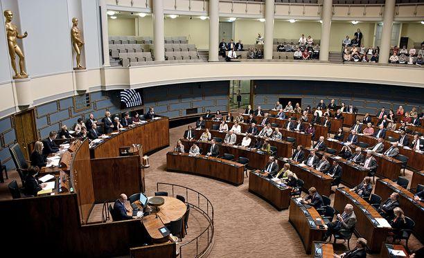 Eduskunta avasi syysistuntokauden peruskorjatussa Eduskuntatalossa 5. syyskuuta.