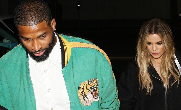 Tristan Thompson ja Khloe Kardashian saivat tyttären viime torstaina.
