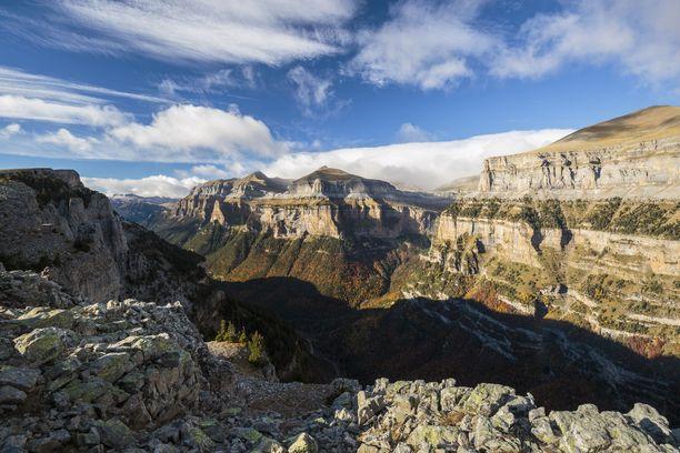 Ordesan laaksoa on verratta Grand Canyoniin.