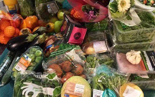 """Perheenäiti Anniina, 33, etsii lapsilleen ruoan roskiksista: """"Syömme terveellisemmin kuin käymällä kaupassa"""""""