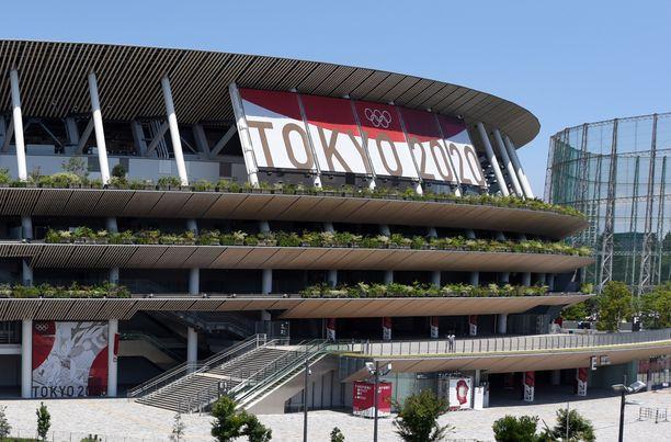 Tokiossa on ensimmäiset kisatapahtumat jo käynnistyneet.