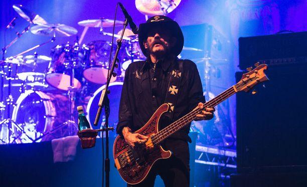 Motörheadin solisti Lemmy Kilmister täyttää tänä vuonna 70 vuotta.