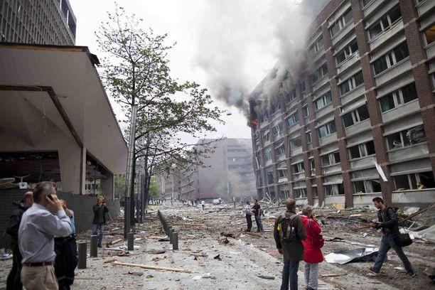 Anders Behring Breivik oli Oslon keskustassa perjantai-iltapäivällä tapahtuneen pommi-iskun takana.