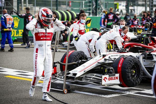 Kimi Räikkösen suoritusta Belgian GP:ssä arvostettiin.