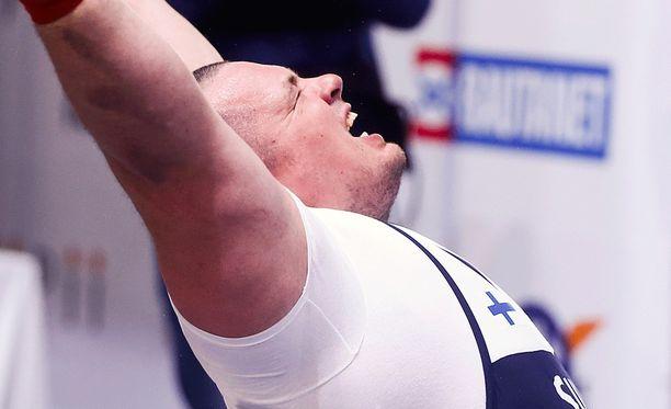 Fredrik Smulter oli lähellä uutta Suomen ennätystä.